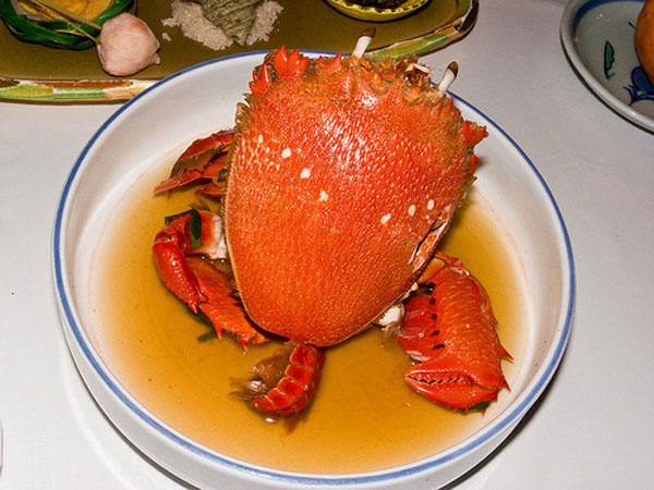 Phu Quy, red king crab, salangane nests, expensive foods