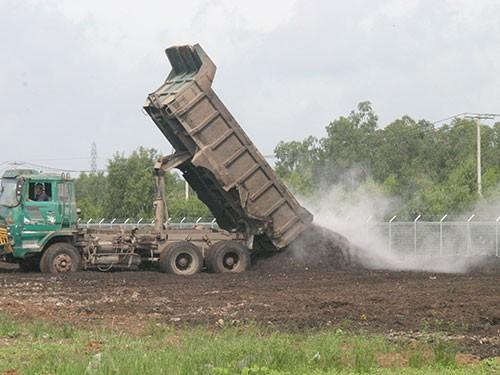 Vietnam, landfill, Hiep Phuoc, high technology