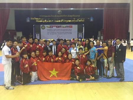 Vietnam triumph at SEA karatedo event