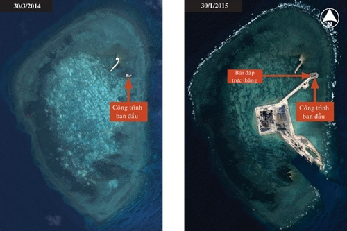 East Sea: What conspiracy is behind China's artificial island?