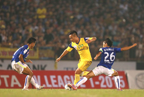 Hoang Anh Gia Lai fall back following defeat to Nghe An