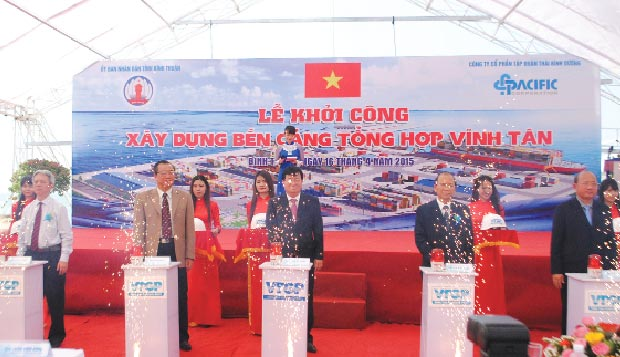 Pacific builds $107m Vinh Tan port, Binh Thuan, new port