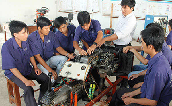 Education reform, Vietnamese schools, vocational schools