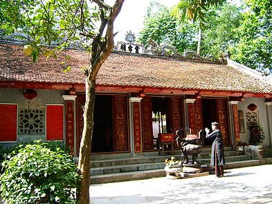 Sacred temples in Hanoi