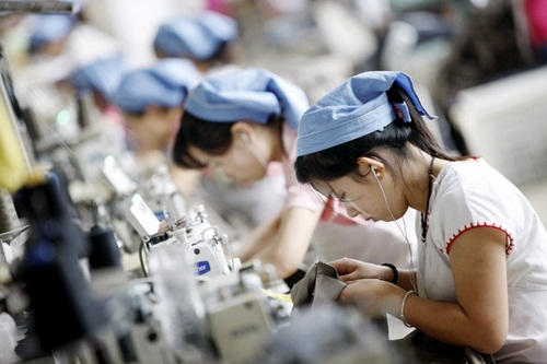 Vietnam, world's factory, labor cost, GDP