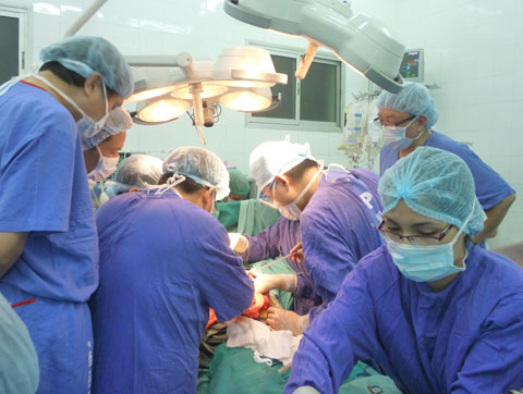 Vietnam catches up with the world in organ transplantation