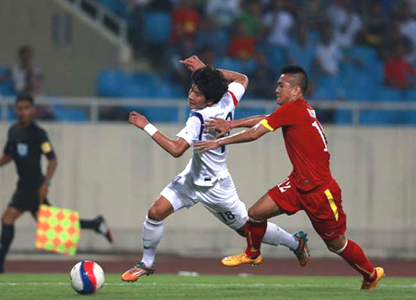 U23s held to goalless draw against South Korea