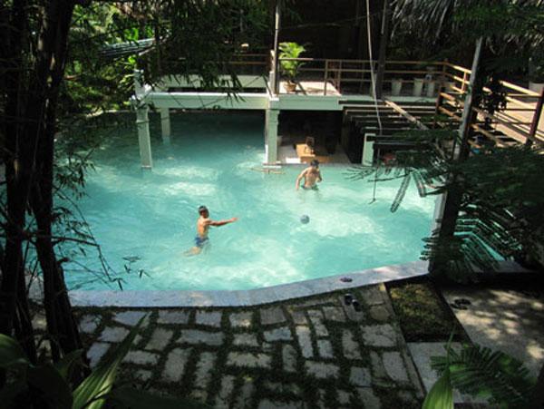Architect uses nature to nurture village news vietnamnet for Garden pool hanoi