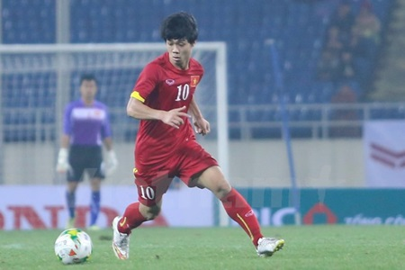 Vietnamese striker Cong Phuong shall be under the spotlight at SEA Games