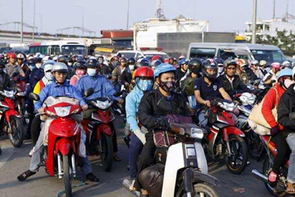 Motorbike checks seek to curb air pollution