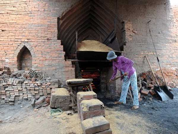 UNDP, non-fired bricks, agriculture land, traditional brick kilns