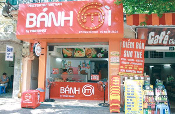 Ha Noi banh my, Hom Market, baguettes
