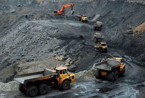 Coal mining industry controlled by groups