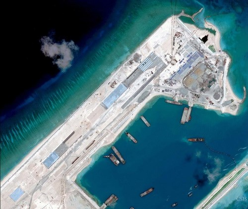 "China's ""exclusive order"" plot in the East Sea, reefs, truong sa, hoang sa, spratly"