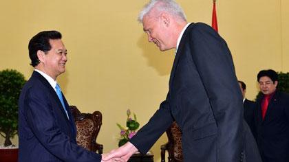 Danish Ambassador to Vietnam John Nielsen, Denmark, Vietnam