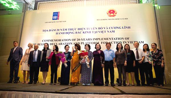 VN faces hurdles in gender equality
