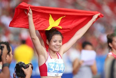 Vietnamese runner power to 400m gold at Asian Grand Prix
