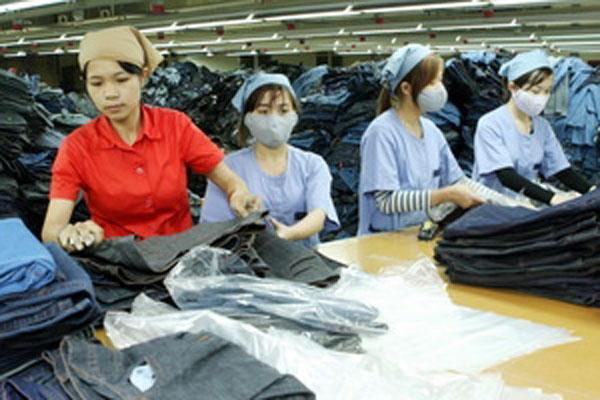 FDI flows into textile-garment projects