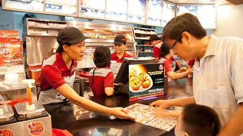 Jollibee, KFC, Loteria, McDonald's