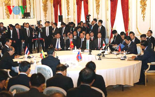 Mekong-Japan Summit, ASEAN countries, East Sea