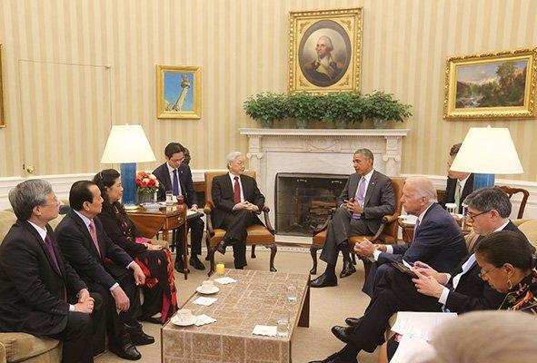 VN-U.S. ties taken to higher plane in Trong's historic America visit