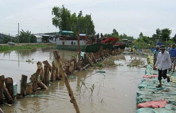 Mekong Delta, An Giang, climate change, international donors