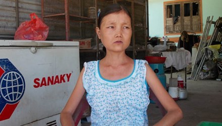 Vietnamese girl eats kilos of rice, drink 15 liters of water a day