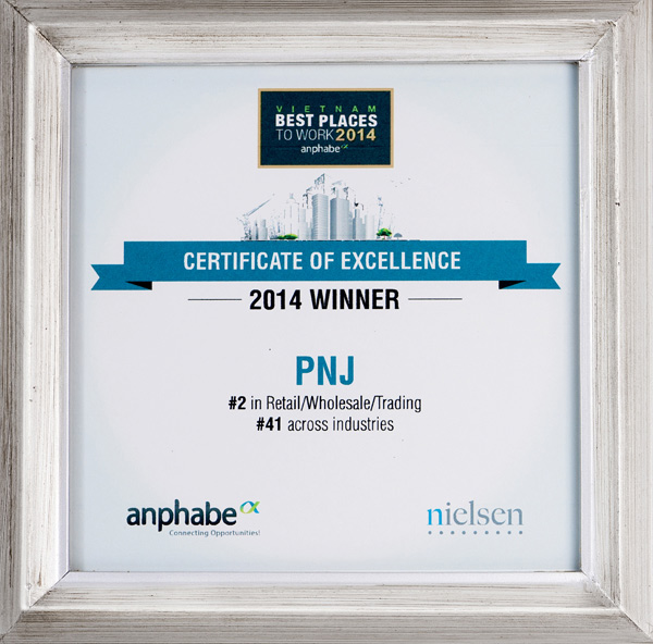 PNJ enters top 100 Places to Work in Vietnam