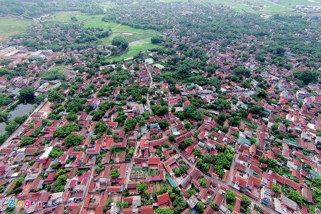 Vietnam's most beautiful ancient village viewed from aerial cameras
