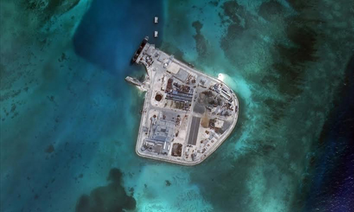 China's shifting sands in the Spratlys