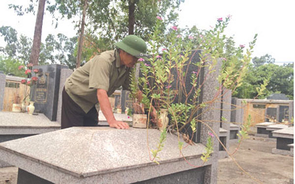 Veteran helps locate comrades' remains