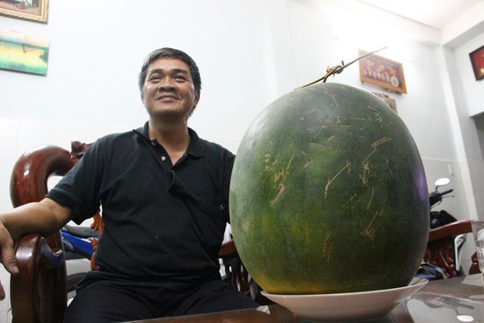 Watermelons stay fresh for six months