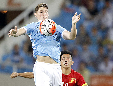 How did Vietnam football benefit from Man City's tour?