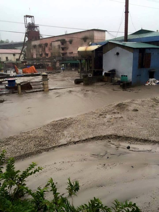 Images of the devastation caused by torrential rains in Quang Ninh