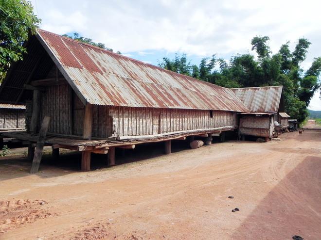 The peaceful village on Lake Lak shore