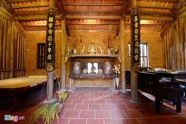 Duong Lam Village, homestay tourism, bamboo
