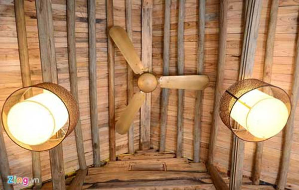 Duong Lam Village, homestay tourism, bamboo