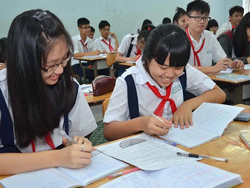 Vietnam, national high school finals, education reform, MOET