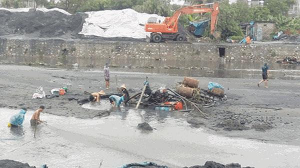 Quang Ninh, flooding, coal mining, waste water