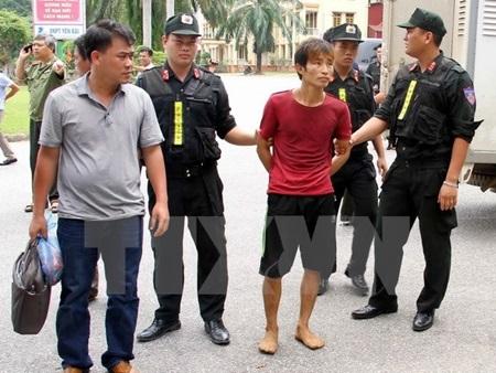 Yen Bai mass murder suspect arrested