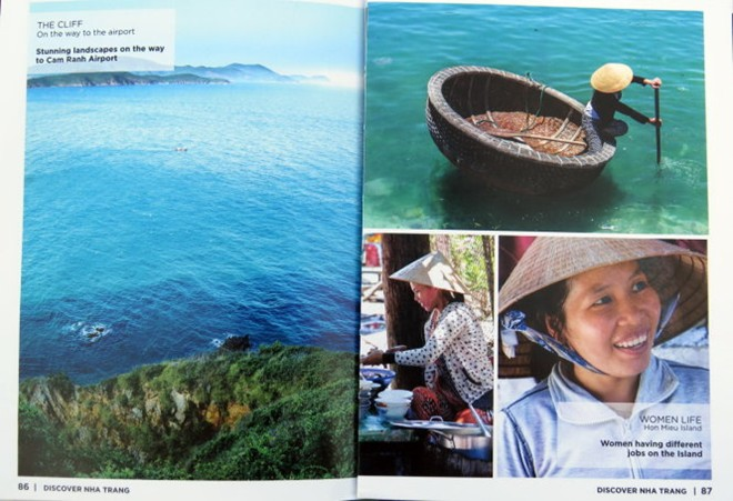 """""""Discover Nha Trang"""" Magazine published by foreign men"""