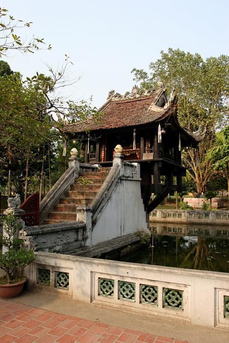 Historic buildings around Ba Dinh Square