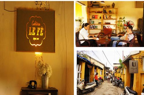 Four attractive coffee shops in Hoi An