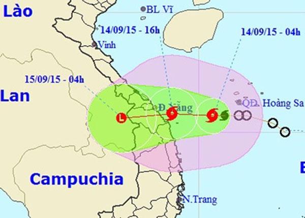 Quang Ngai Vietnam Map.Tropical Storm Vamco To Hit Vietnam Today News Vietnamnet