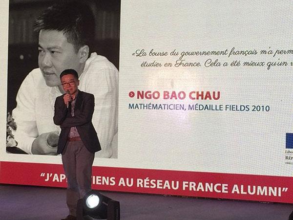 Professor Ngo Bao Chau, Madame Ton Nu Thi Ninh, video contest, higher education