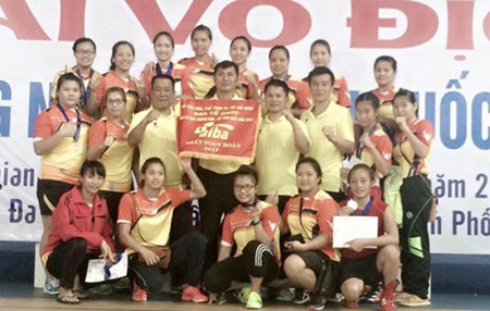 Vietnam ranks second at Kurash Championships