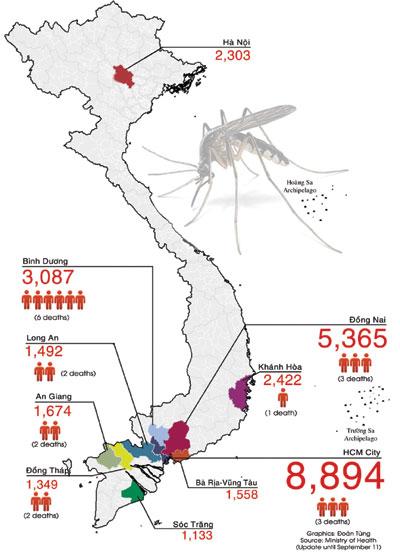 Dengue fever hits 39,000 in Vietnam