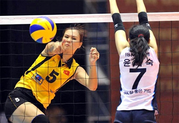 Vietnamese volleyball player to play for Thai club