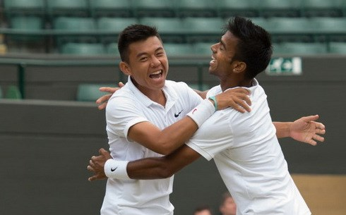 Wimbledon champions lose at VN Open