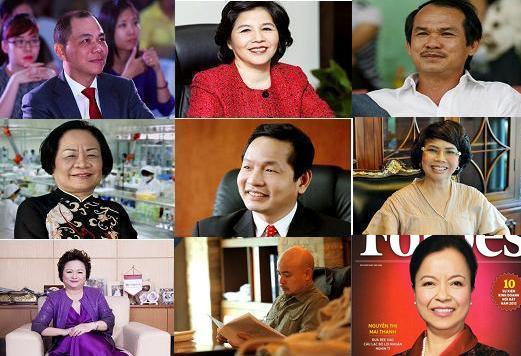 Vietnam's world-famous entrepreneurs